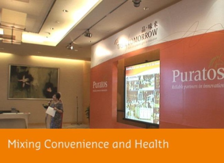 Mixing convenience and health