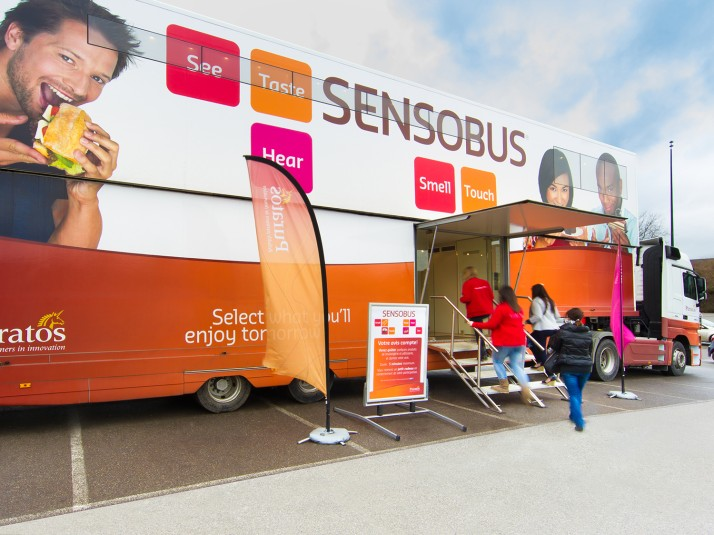 Mobile sensory lab helps discover consumer preferences