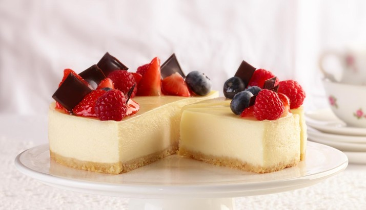 The famous cheesecake: a timeless classic!