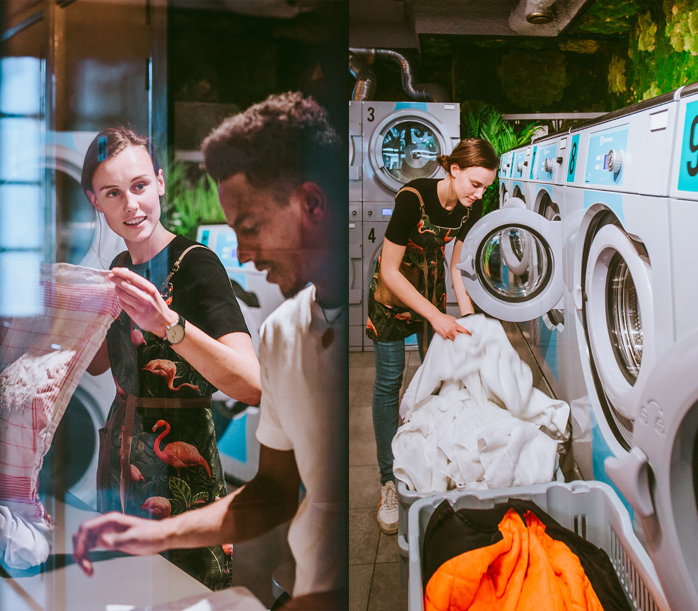 Social blurring: Laundry, learning and lots of doughnuts